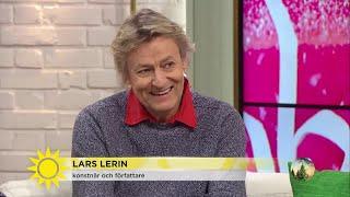 """Lars Lerin om papparollen: """"Jag är inte så bra på att säga nej"""" - Nyhetsmorgon (TV4)"""