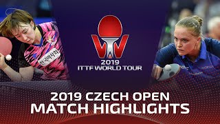 Маргарита Песоцкая vs Suh Hyowon | Czech Open 2019 (R32)