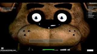 Five nights at freddy faz-bear's pizza (Roblox)