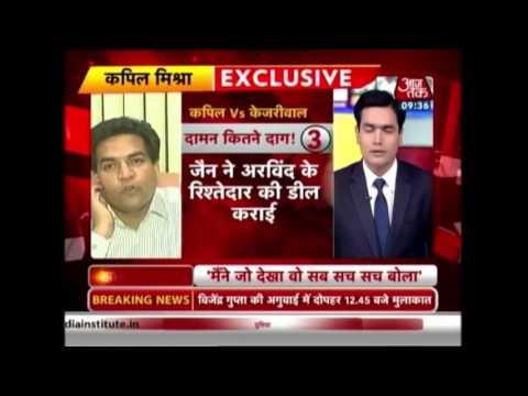 Sayeed Ansari interview with Delhi Minister Kapil Mishra