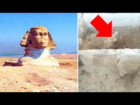 Archaeologists Have Discovered A Second Hidden Sphinx In Egypt