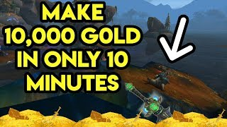 World Of Warcraft Gold Farm Make 10,000 Gold In 10 Minutes