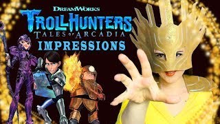 Trollhunters Tales Of Arcadia Impressions  - DreamWorks Netflix - Madi2theMax