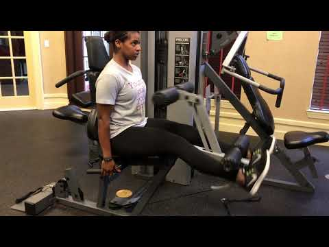 Try Out This Leg Exercise Next Time You Are At The Gym...
