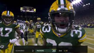 Packers vs Seahawks Divisional Round 2019 NFL Playoffs Highlights