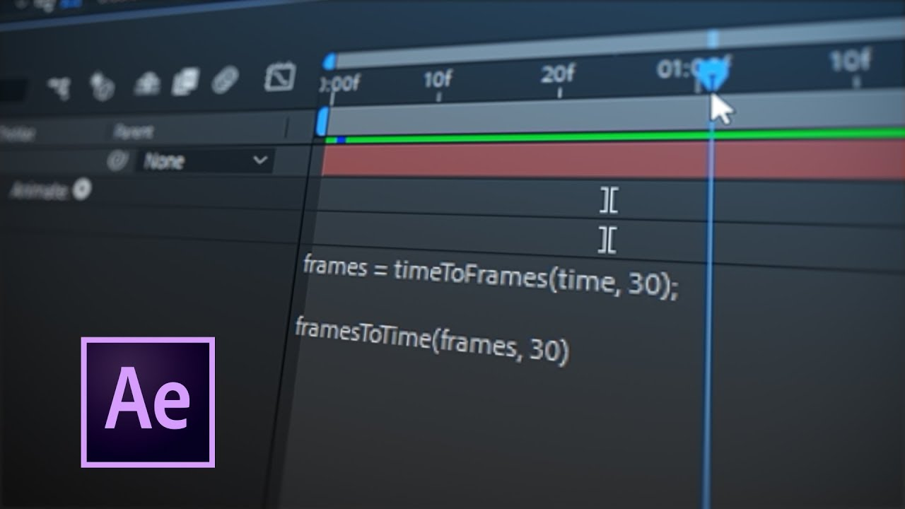 Tip 046 - How To Convert Time into Frames in After Effects