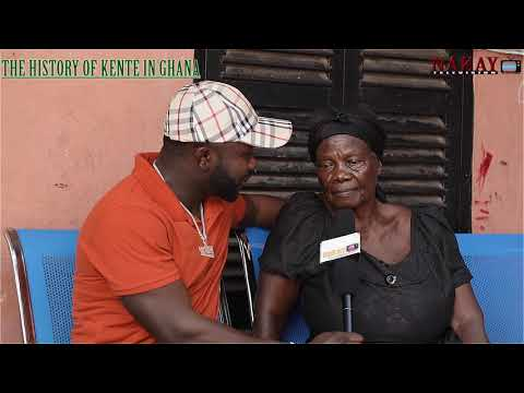 HISTORY OF KENTE IN GHANA