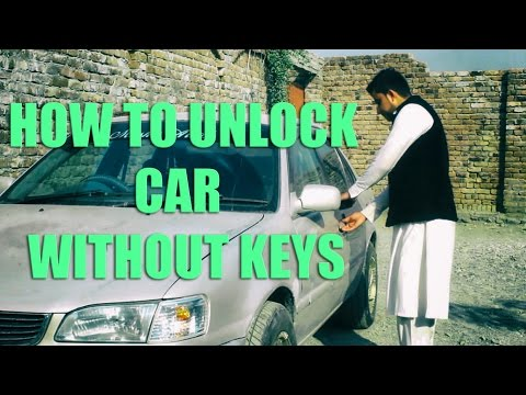 how to unlock your car without keys youtube. Black Bedroom Furniture Sets. Home Design Ideas