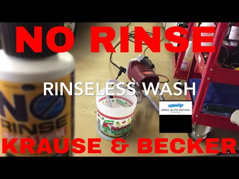 Tips and Tricks on How to Use a NO RINSE with the KRAUSE AND BECKER sprayer
