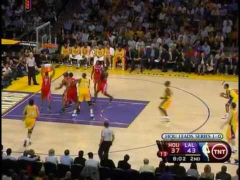 La Lakers V Houston Rockets Game 2 Playoffs Wcsf 2009 Youtube