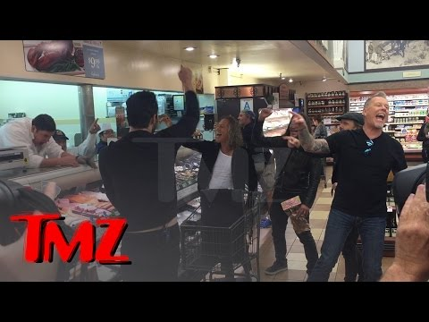 Metallica Rocks Out In Hollywood Grocery Store | TMZ