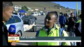 Unathi Binqose in ECape for UN Global Road Safety Week