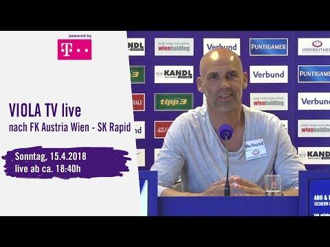 Live nach FK Austria Wien - SK Rapid