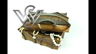 Wie man eine Holzkiste herstellt / How to make a wooden box