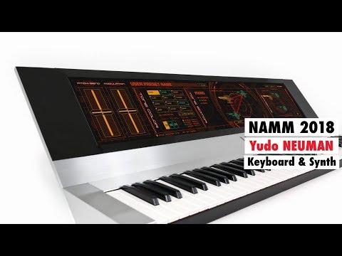 NAMM 2018: Yudo NEUMAN Multi-Touch Keyboard / Synthesizer Prototype