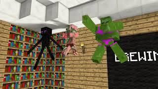 Майнкрафт Школа Мобов   СЕКС в МАЙНКРАФТ Фильм Minecraft 1