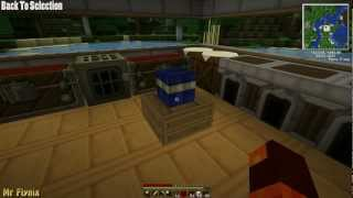 Technic Tutorials Episode 3 - Redstone Engine, Wooden/Cobblestone Pipes, Electronic Furnace, 2x Ore