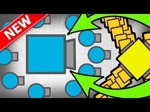 BOSS SUPER EPIC MEGA CRAZY TANK!   Diep.io Huge Update New Tank!   New MASTER Bots Tank