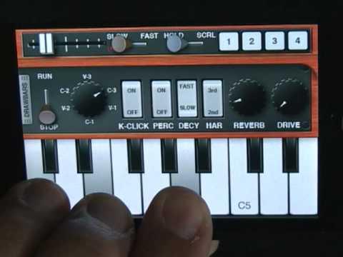 Pocket Organ C3B3 - Scanner vibrato & chorus : iPhone / iPod Touch App