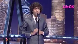 SANKET BHOSLE.SHOW WITH Chirag wadhwani tv star comedian reality judges fresh funny act