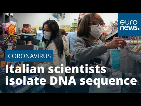 Italian scientists isolate DNA sequence of coronavirus
