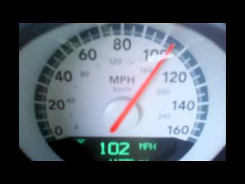5.7 Liter V8 2009 Dodge Challenger R/T 0-140 and 0-60 top governed speed acceleration run