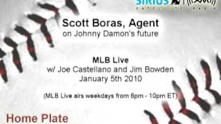 Agent Scott Boras discusses Johnny Damon