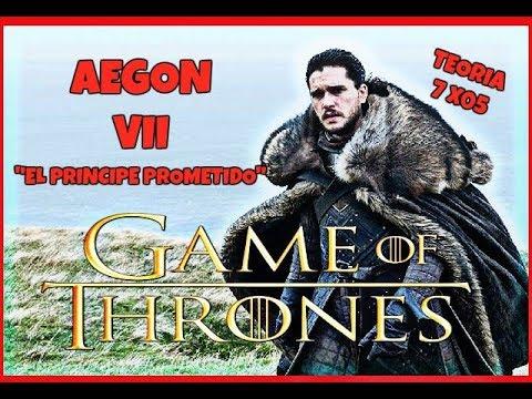 JUEGO DE TRONOS   ¡¡Jon Snow (AEGON VII EL PRINCIPE PROMETIDO)!!