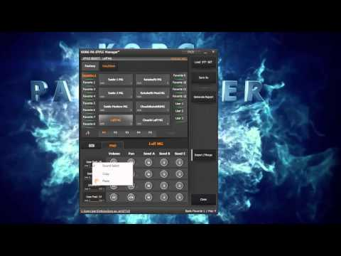Korg PA Manager v2 Style Manager Arabic By...