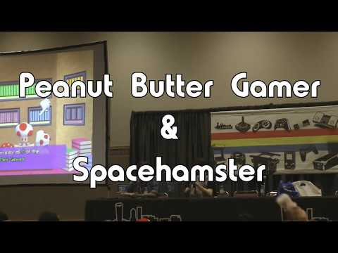 PRGE 2017 - Peanut Butter Gamer & Spacehamster - Portland Retro Gaming Expo 1080p