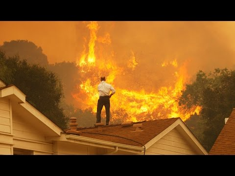 Worst wildfires in California's History 750+ Homes towns consumed Breaking News September 15 2015