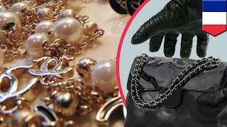 Chanel Jewelry robbery: $5.4m worth of jewelry stolen when Paris thieves snatch handbag