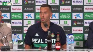 Presentación de Sergio Canales con el Real Betis Balompié