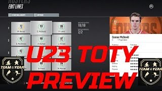 NHL 18 - U23 TOTY PREDICTIONS!
