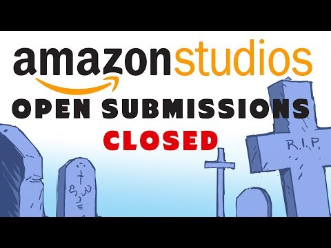 AMAZON Studios closes submissions program for creators, writers and filmmakers!