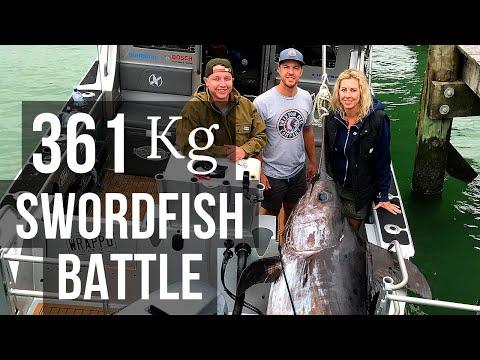 361kg Broadbill Swordfish Battle (Season 4 Ep 9)