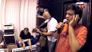 Baawra Mann Dekhne | Live rehearsal by  Swanand Kirkire and Shantanu Moitra