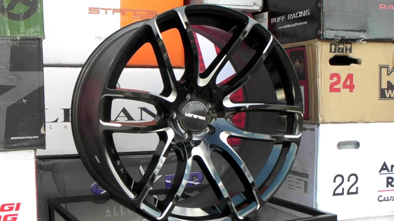Www Dubsandtires Com Lorenzo Wheels Wl36 36 Gloss Black