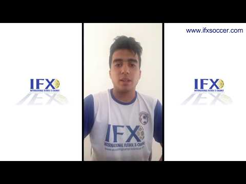 Mexico Scouting Camp and IFX Pro Year Germany Scholarship winner Adrián Rodríguez Cruz