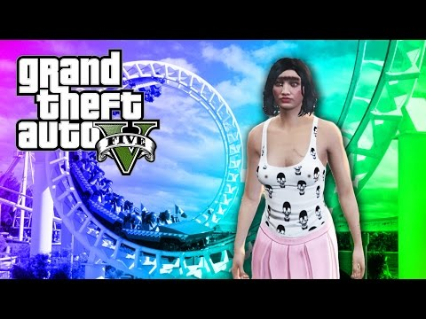 ROLANDA RIDES ROLLERCOASTERS | Grand Theft Auto V Part 2