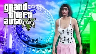 rolanda rides rollercoasters   grand theft auto v part 2