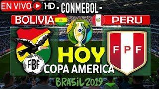 Bolivia vs Peru EN VIVO HOY martes 18 de junio 2019 Copa America Brasil 2019, comentarios