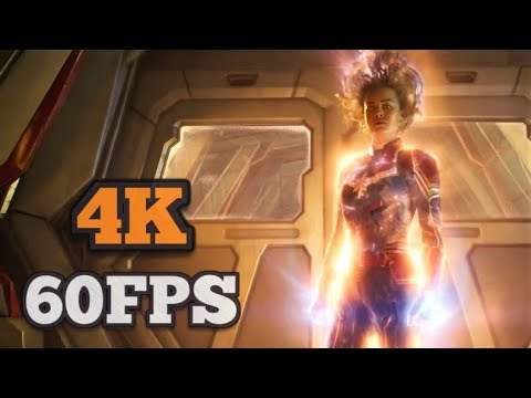 [4K/60FPS] Captain Marvel - Official Trailer #2 | 2019 | Brie Larson, Jude Law
