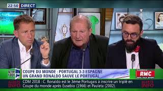 After foot du vendredi 15/06 – partie 4/7 - debrief de portugal/espagne (3-3)