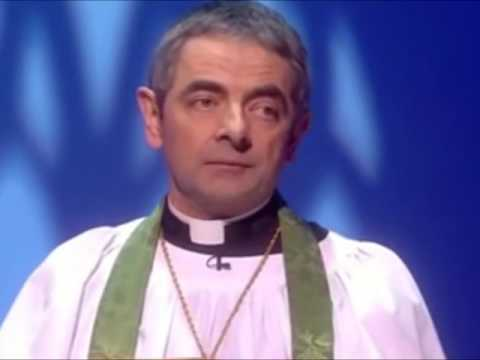 Download Youtube: Rowan Atkinson (Mr Bean) in religious comedy sketches