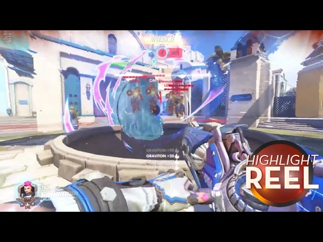 Highlight Reel #241 - Overwatch Player Finds Devastating Use For Meis Ice Wall
