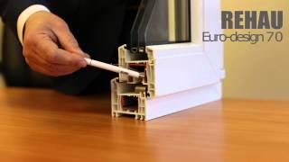 Профильная система Rehau Euro Design 70 - описание, характеристики, преимущества(, 2015-04-10T07:25:17.000Z)