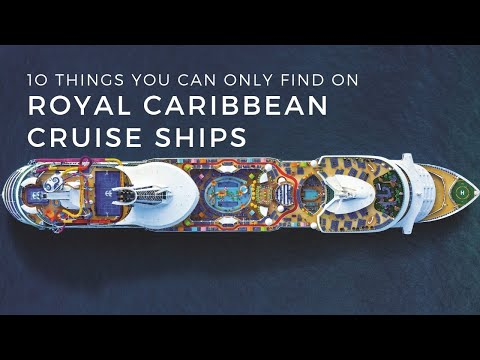 Things You Can Only Find on Royal Caribbean Cruise Ships