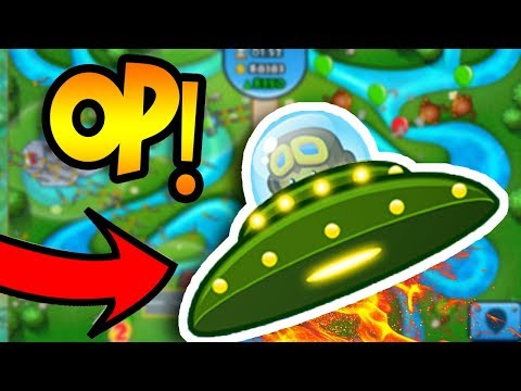 UFO MONKEY TOWER!?!?! | Bloons TD Battles