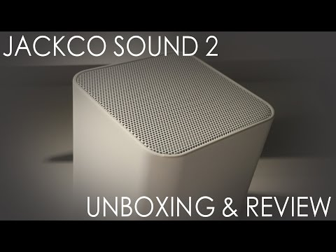 Jackco Sound 2 Portable Bluetooth Speaker Review & Giveaway 4K